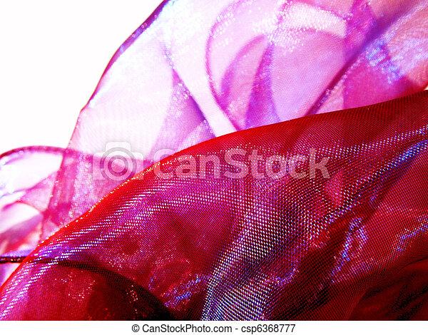 ピンク, 絹 - csp6368777