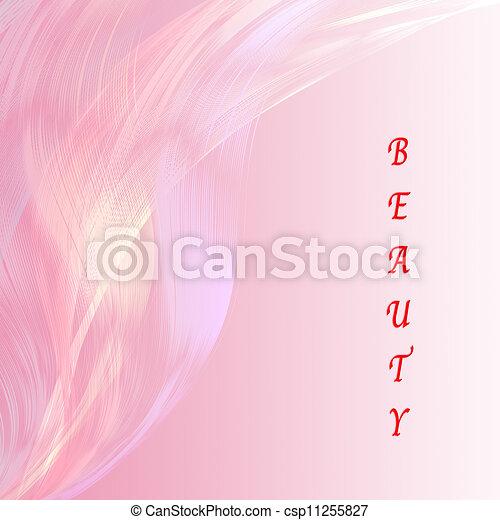 ピンク, 美しさ, 魅力的, 背景, 線, 言葉遣い - csp11255827