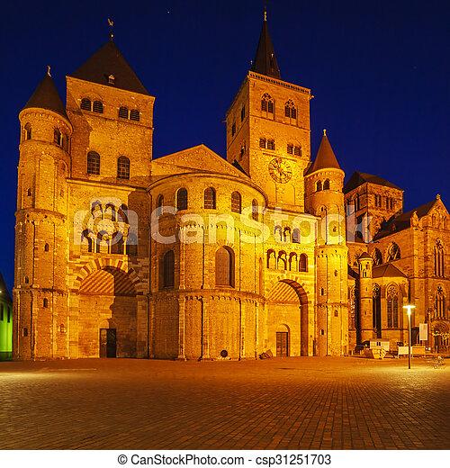 ピーター, ドイツ, 聖者, trier, 大聖堂 - csp31251703