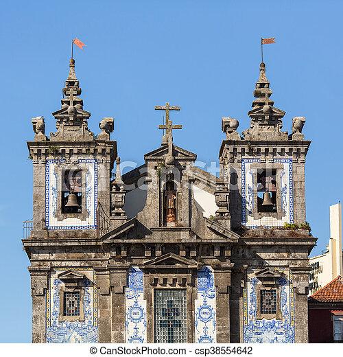 ファサド, porto, 教会 - csp38554642