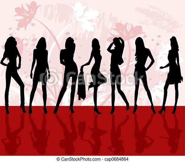 ファッション, 女の子 - csp0684864