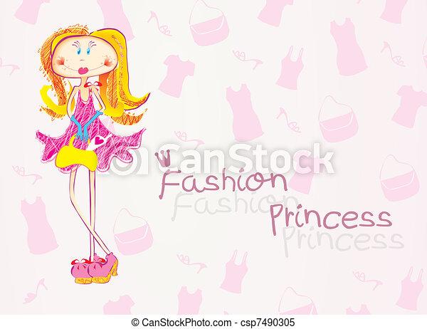 ファッション, 王女 - csp7490305