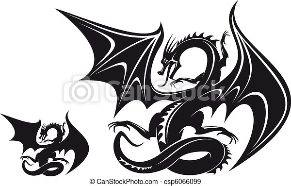ファンタジー, ドラゴン - csp6066099