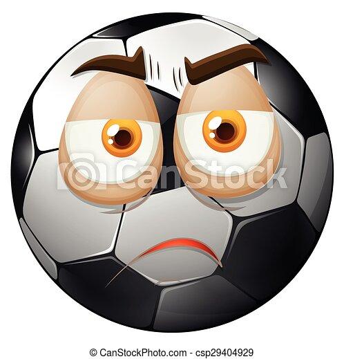 フットボール 悲しい 顔 フットボール 悲しい イラスト 顔