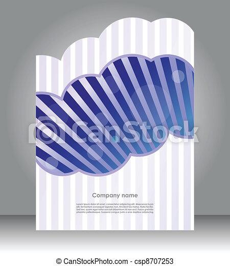 フライヤ, デザイン, 特別, ビジネス - csp8707253