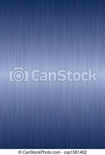 ブラシをかけられた金属, プレート - csp1581462