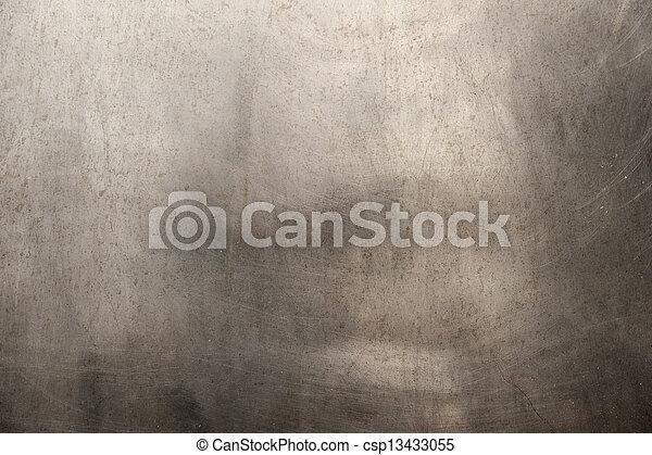 ブラシをかけられた金属, 手ざわり - csp13433055