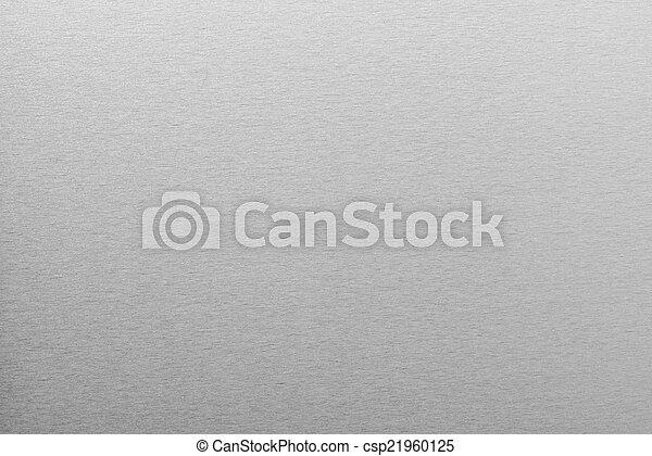 ブラシをかけられる, 抽象的, 金属, 手ざわり, 背景 - csp21960125