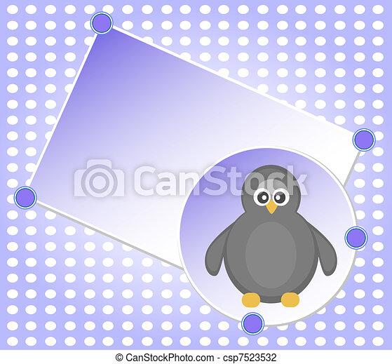 ブランク, クリスマスカード, テンプレート - csp7523532