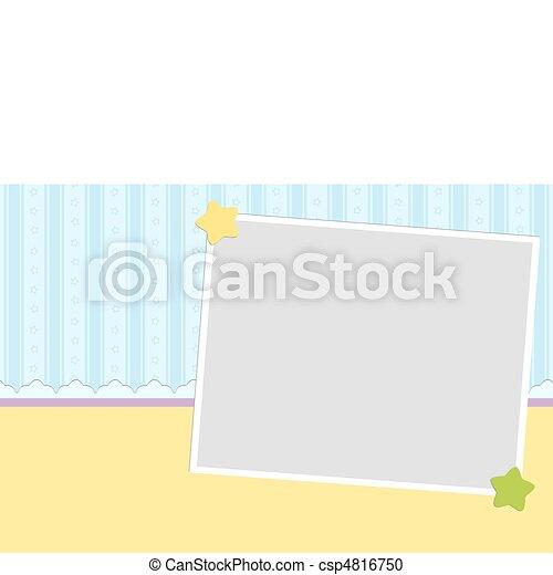 ブランク, 挨拶, カード, テンプレート - csp4816750