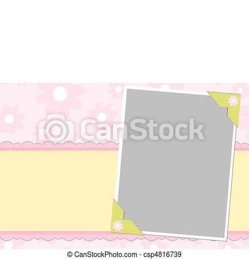 ブランク, 挨拶, カード, テンプレート - csp4816739