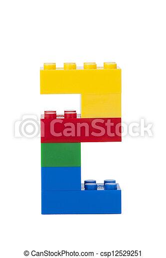 ブロック, プラスチック - csp12529251