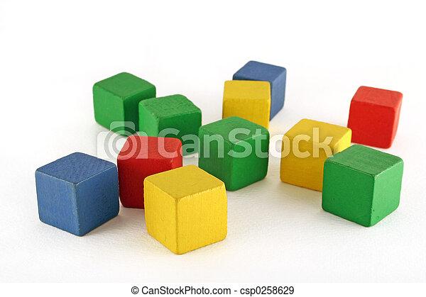 ブロック, 建物 - csp0258629
