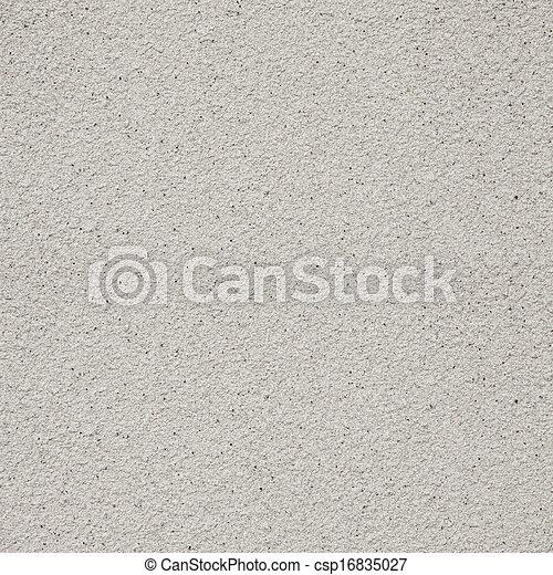 プラスター, ざらざらしている, 灰色, 背景 - csp16835027