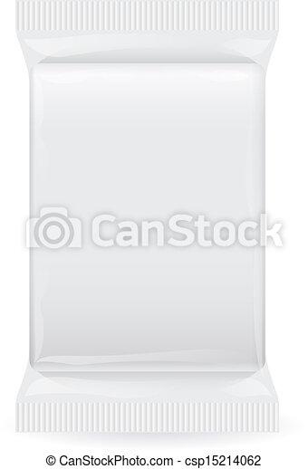 プラスチック, パック - csp15214062