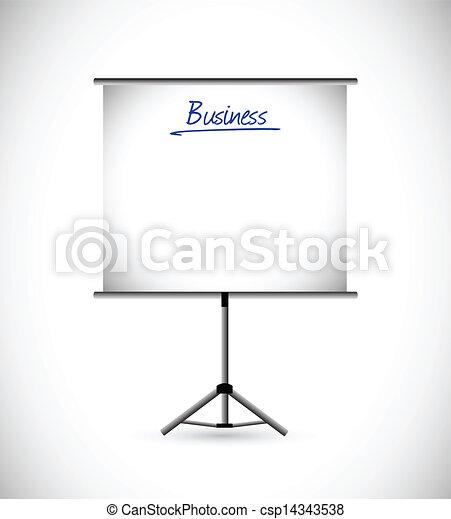 プレゼンテーション, ビジネス 実例 - csp14343538