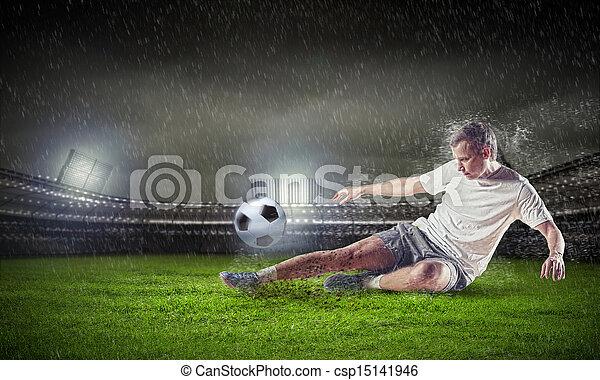プレーヤー, フットボール - csp15141946