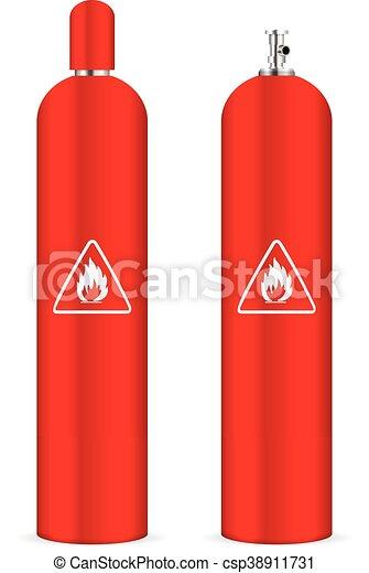プロパン, シリンダー, ガス - csp38911731