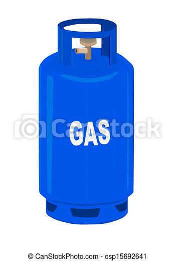 プロパン, cylinder., ガス - csp15692641