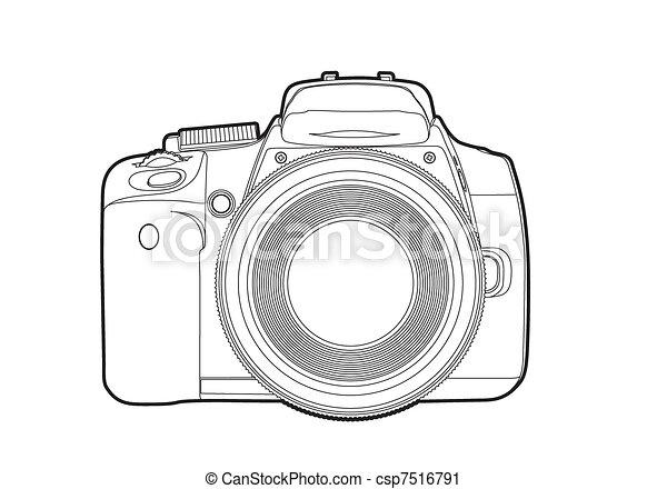 ベクトル, カメラ - csp7516791