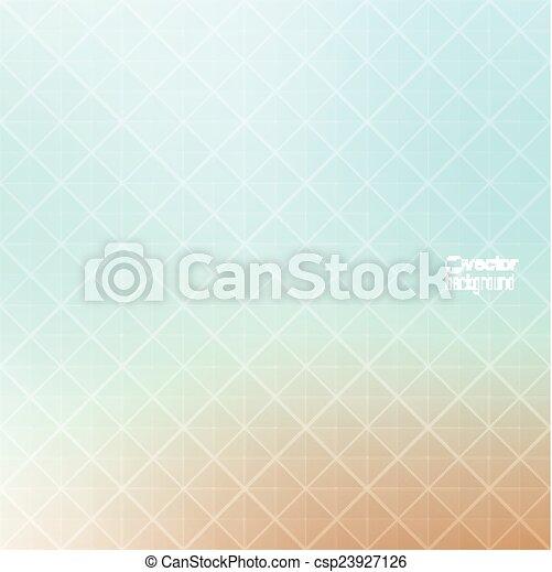 ベクトル, パターン, 背景, 抽象的, geometr, 三角形 - csp23927126