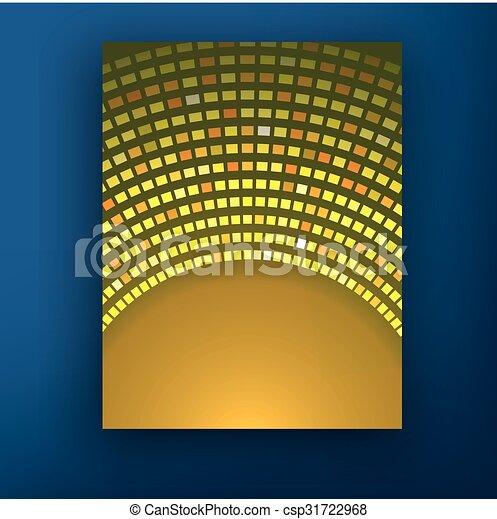 ベクトル, レイアウト, ビジネス, eps10., パンフレット, フライヤ, デザイン, a4, テンプレート, ぼやけ, 大きさ, 背景 - csp31722968