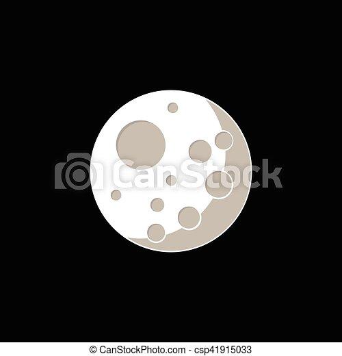 ベクトル, 月 - csp41915033