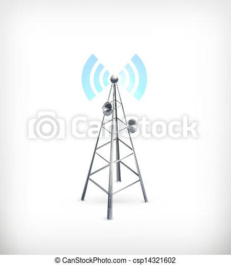 ベクトル, 無線, アイコン - csp14321602