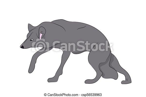 ベクトル 狼 イラスト 白 ベクトル 狼 背景 イラスト