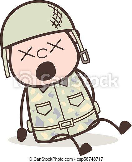 ベクトル 軍隊 イラスト 顔 目がくらむようである 士官 表現 漫画