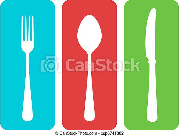 ベクトル, cutlery - csp6741882