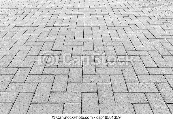 ペーバー, ブロック, 背景, 床 - csp48561359