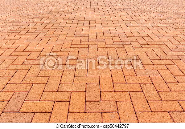 ペーバー, ブロック, 背景, 床 - csp50442797