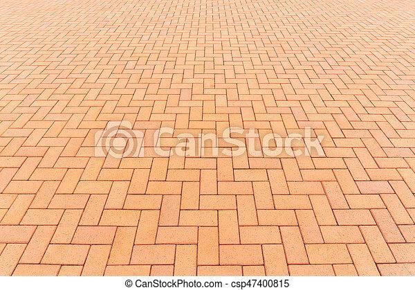 ペーバー, ブロック, 背景, 床 - csp47400815