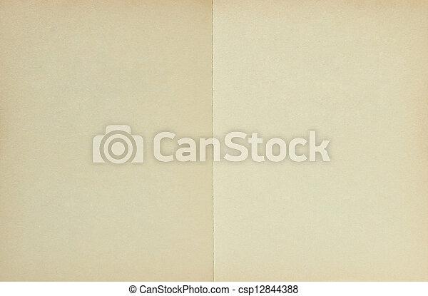 ペーパー, 古い, 手ざわり, 背景 - csp12844388