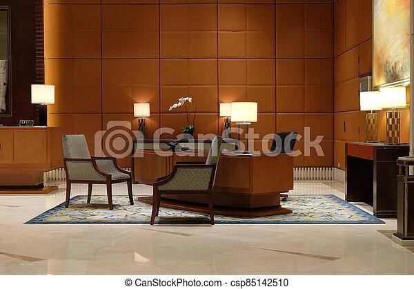 ホテルのロビー, 上海, 陶磁器 - csp85142510