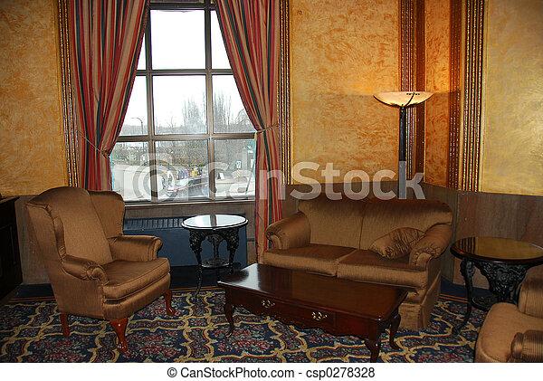 ホテルのロビー - csp0278328