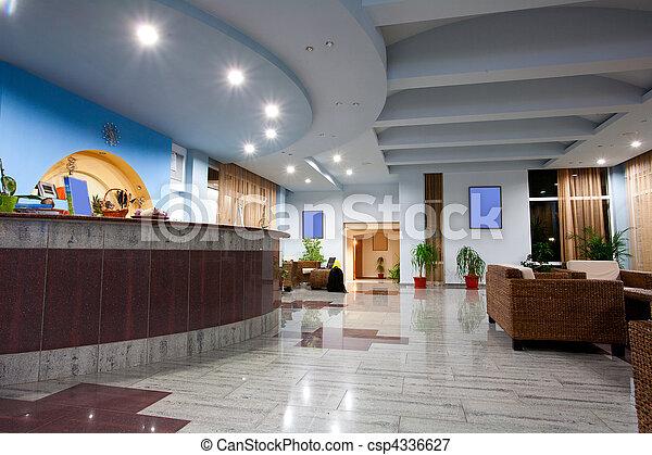 ホテルのロビー - csp4336627