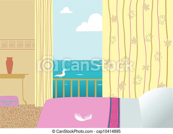 ホテルの部屋 - csp10414895