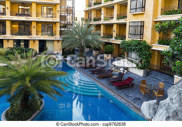 ホテルプール, 水泳 - csp9762638