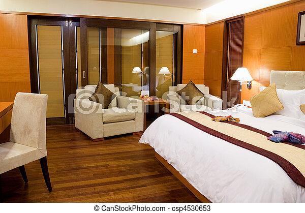 ホテル寝室 - csp4530653
