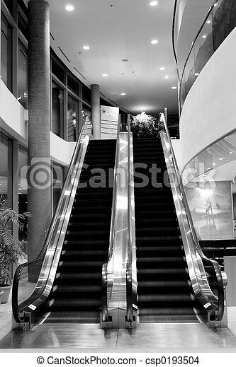 ホテル, エスカレーター - csp0193504