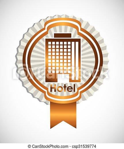 ホテル, デザイン, サービス - csp31539774