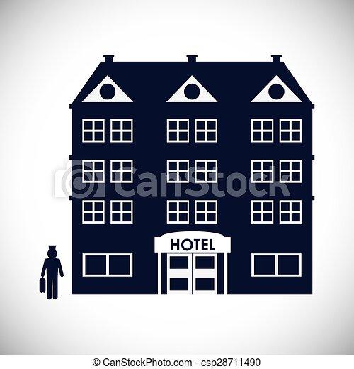 ホテル, デザイン - csp28711490