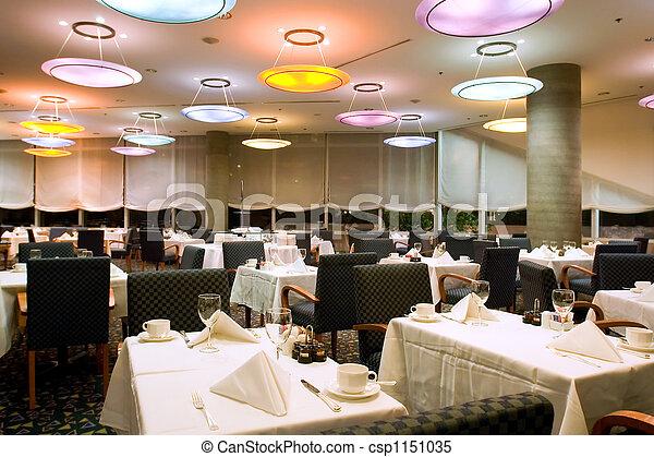 ホテル, レストラン - csp1151035