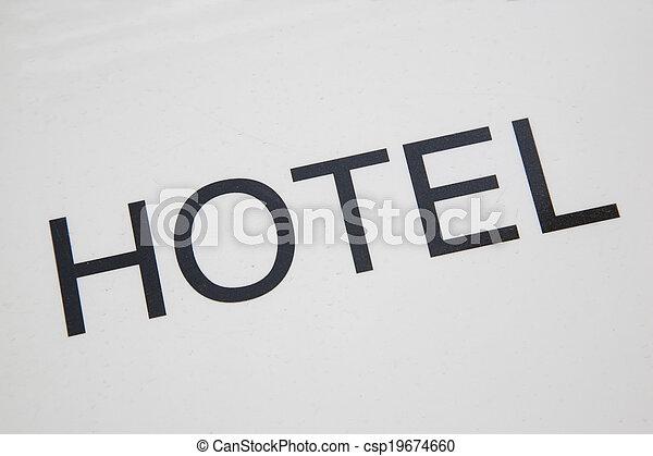 ホテル, 印 - csp19674660