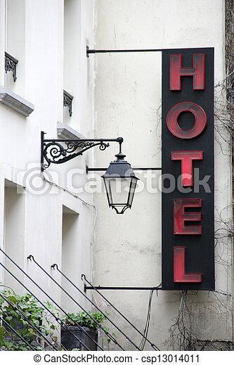 ホテル, 印 - csp13014011