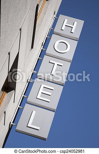 ホテル, 印 - csp24052981
