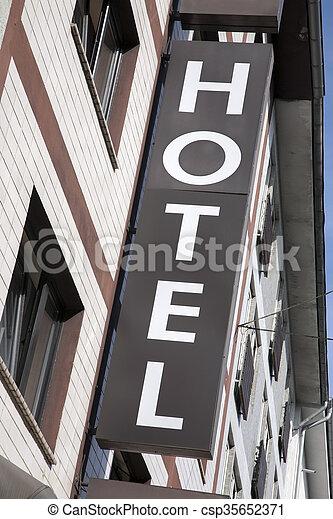 ホテル, 印 - csp35652371