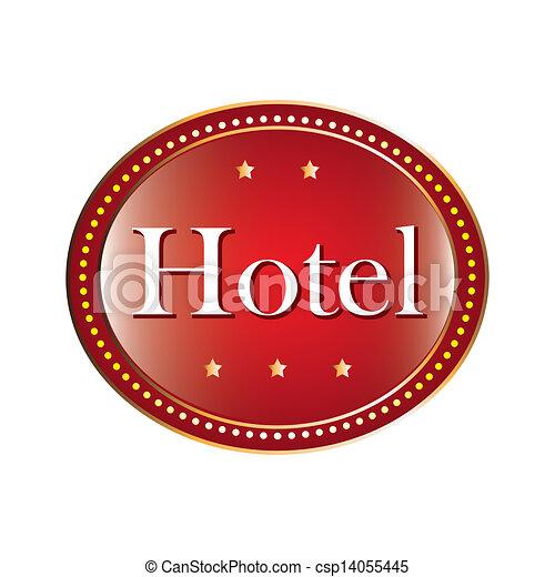 ホテル, 印 - csp14055445